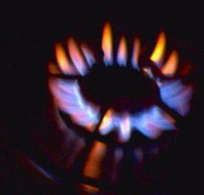Methane Gas Burning On A Stove Aqa C2 Pinterest