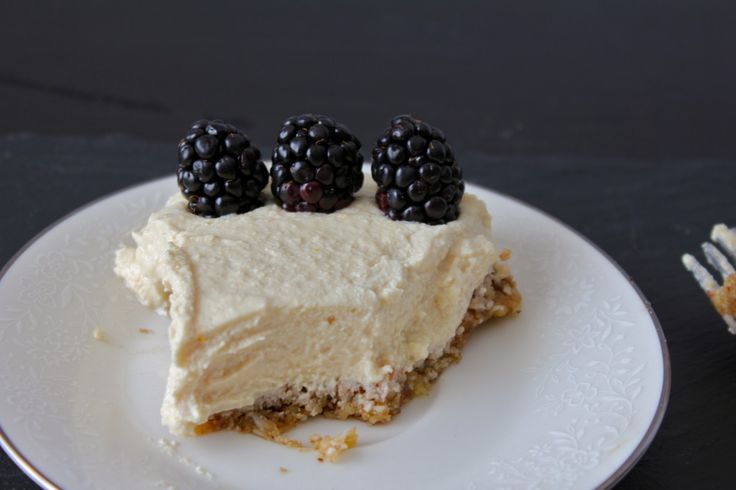 Meyer Lemon Cashew Cream Pie   Sweet tooth   Pinterest
