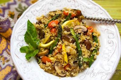 Quinoa Recipe with Summer Vegetable Stir-Fry |Gluten-Free Goddess ...