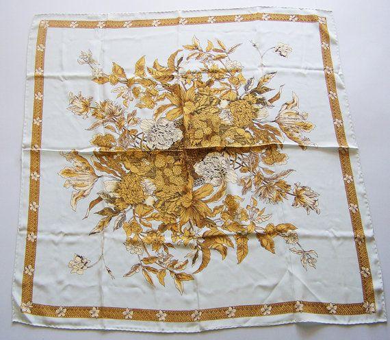 Vintage Metropolitan Museum of Art Silk Scarf