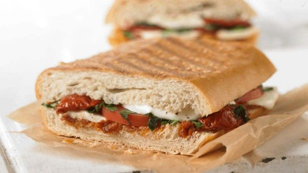 Tomato & Mozzarella Panini at Panera's | Sandwiches and Bread | Pinte...