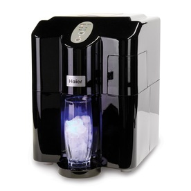 Countertop Ice Maker Lowes : Haier 11.4-Inch 2 Capacity Freestanding Ice Maker (Color: Black)