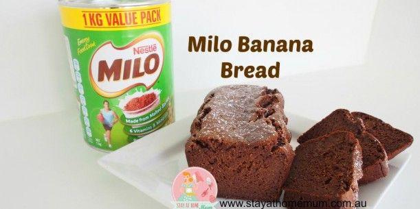 Milo Banana Bread - looks interesting