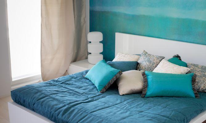 Colores para el dormitorio: azul