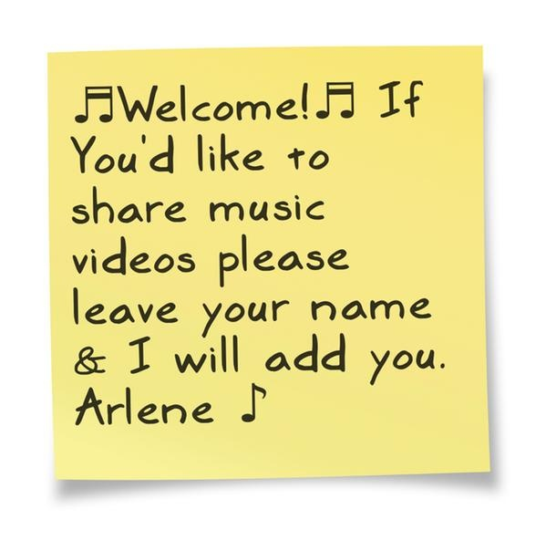 "If you love music and would like to join us, please, Your ""pins"" music-videos are very welcome. And for goodness sakes invite your friends too!!!"