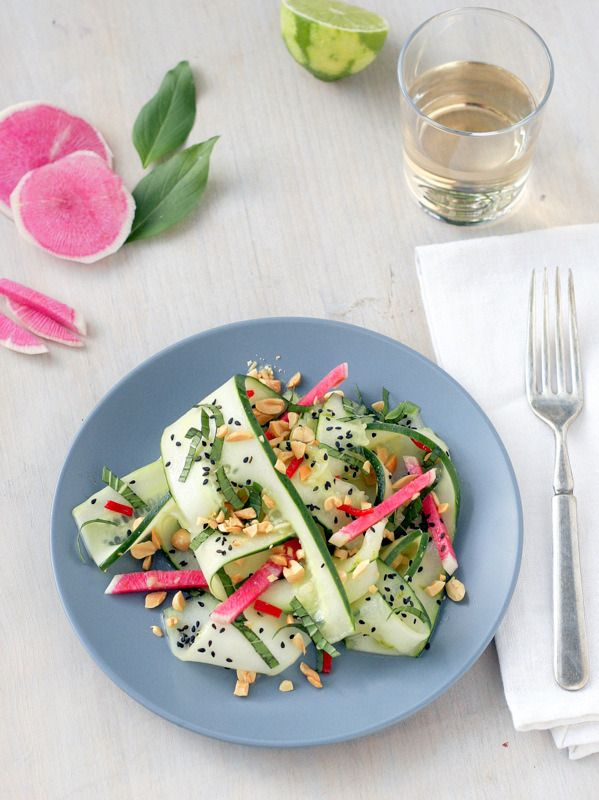 Radish And Peanut Salad Recipes — Dishmaps