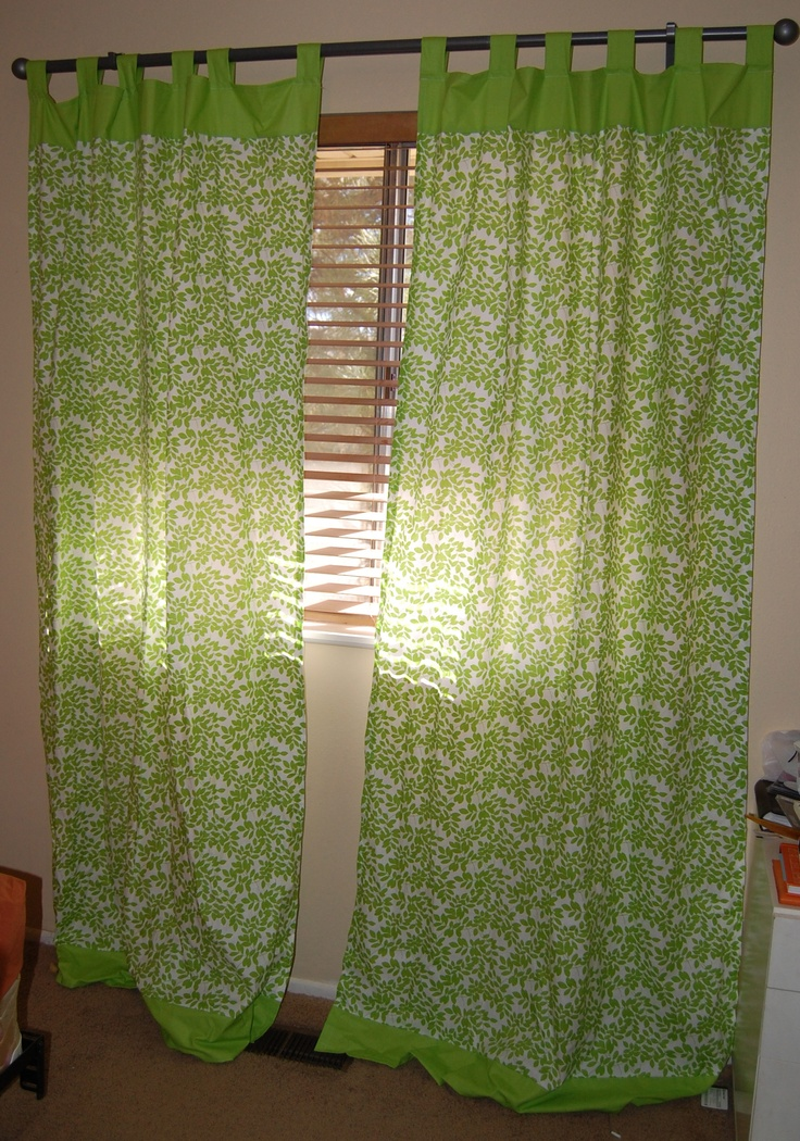 Nursery curtains done and loved pinterest