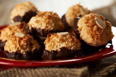 chocolate coconut macaroons are to die for make sure to keep a batch ...