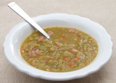 Summer Harvest Split Pea Soup | hearty soups | Pinterest