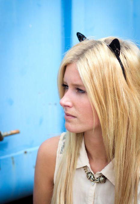 Bijou Brigitte cat ears headband