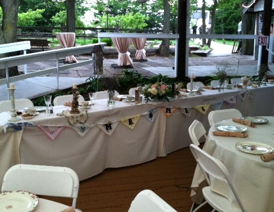 Head Table at Country Pines | Outdoor Wedding Decor Ideas ...