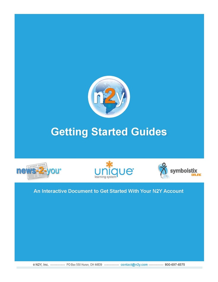 n2y: Getting Started Guides. http://support.n2y.com