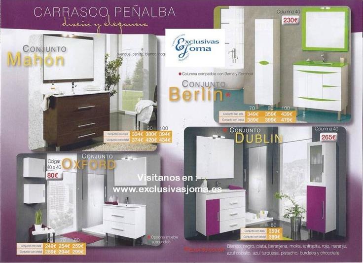 Muebles Para Baño Ofertas:ofertas mensuales,esta vez de la mano de Carrasco peñalba muebles de