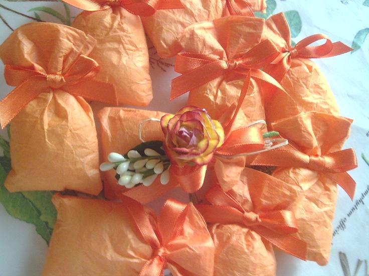 sacchetti portaconfetti in carta di riso