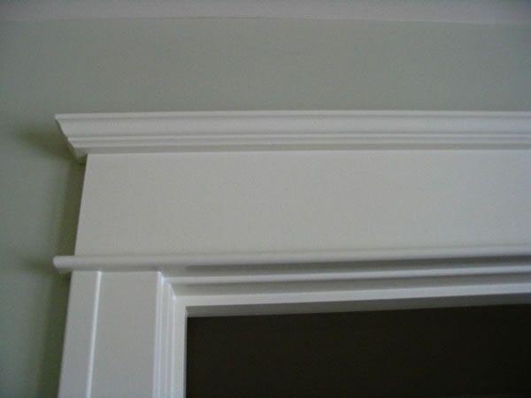 Window trim with simple header trim ideas pinterest for Window header