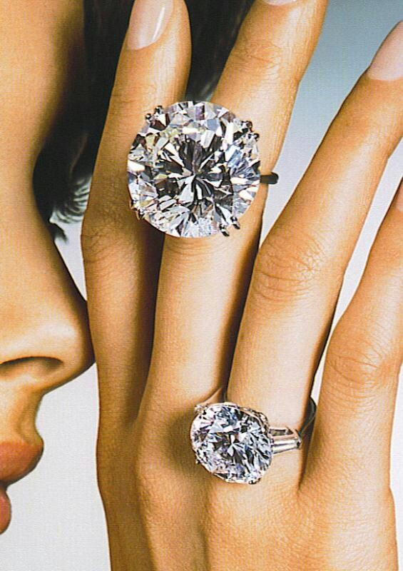 Diamond rings Graff Diamonds are a girl s best friend