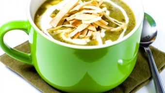 Roasted Poblano and Potato Soup - My daughter's new favorite soup!!!