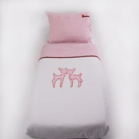 Dekbedovertrek 1 persoons Deer  slaapkamer dochter  Pinterest