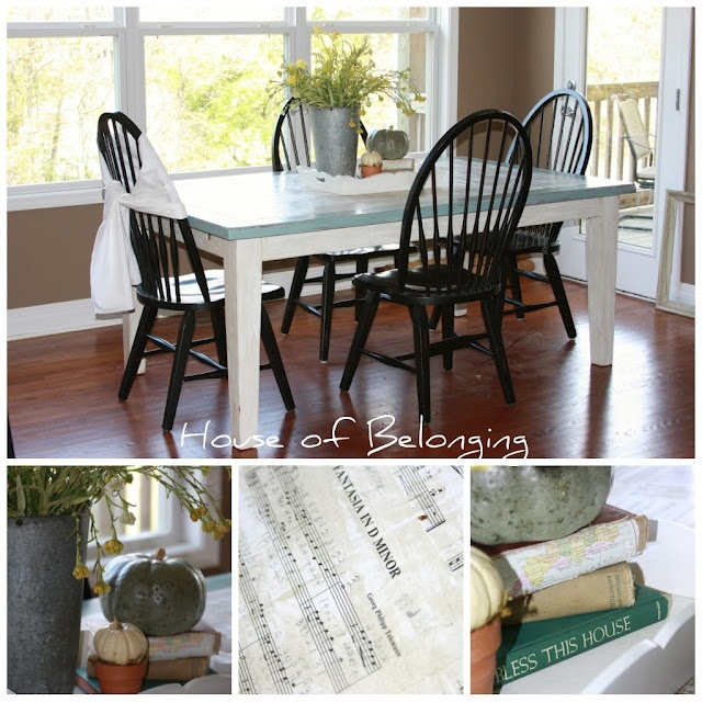 Kitchen table redo diy projects pinterest - Kitchen table redo ...