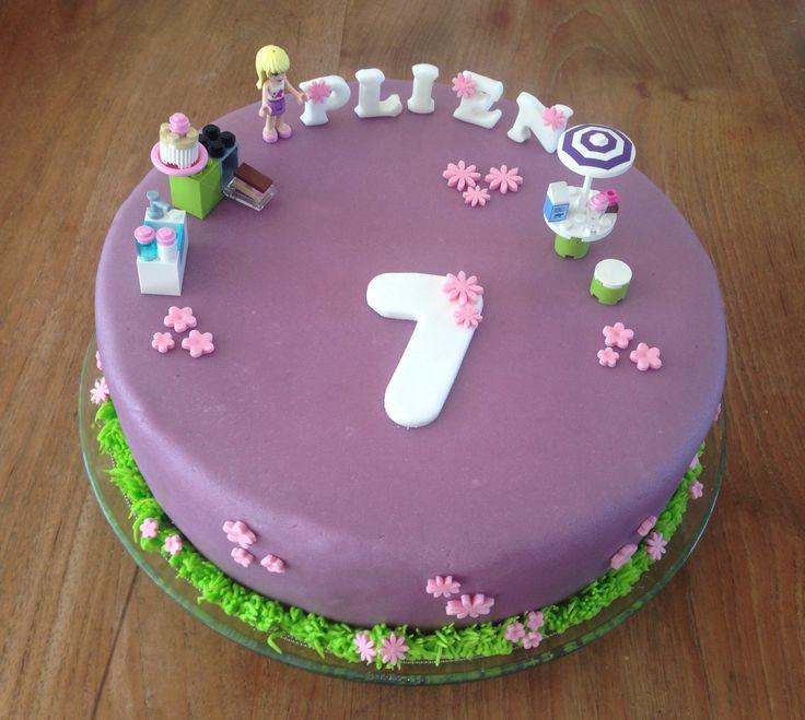 Birthday Cake Designs For Friends : Lego Friends cake Lego Birthday Cakes Pinterest