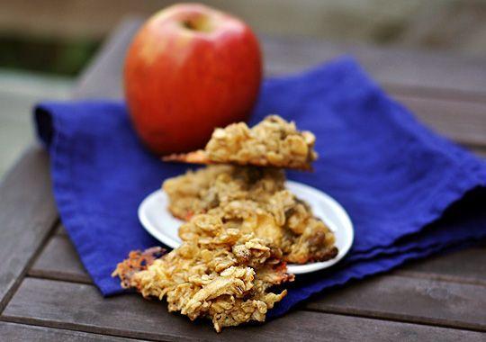 Apple Gouda Oatmeal Cookies.