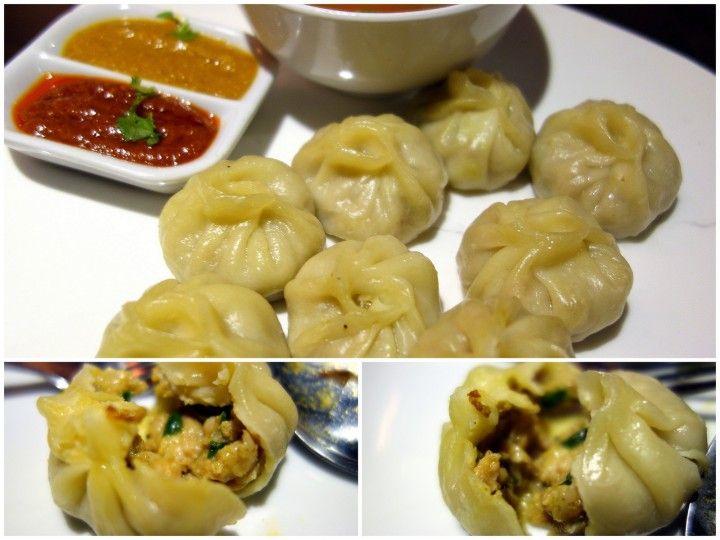 Momo; steamed meat dumplings at Restaurant Nepal Himalayan Cuisine in ...