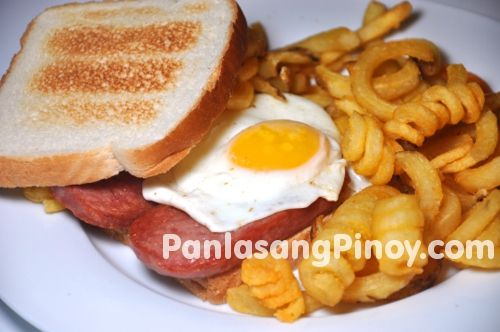 Spam and Egg Sandwich | Recipe