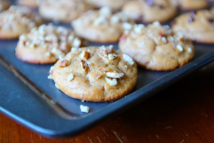 ... Mini Muffins {Made With Applesauce, Pearsauce or Apple-Pear Sauce