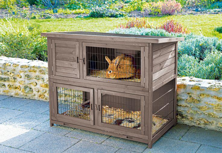 clapier pour terrasse ou balcon lapin pour les petits animaux pinterest. Black Bedroom Furniture Sets. Home Design Ideas