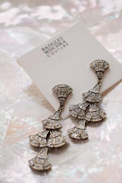 earrings - art deco