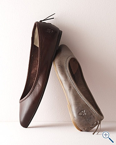 Frye Flats...mom just bought me these and I'm in love!