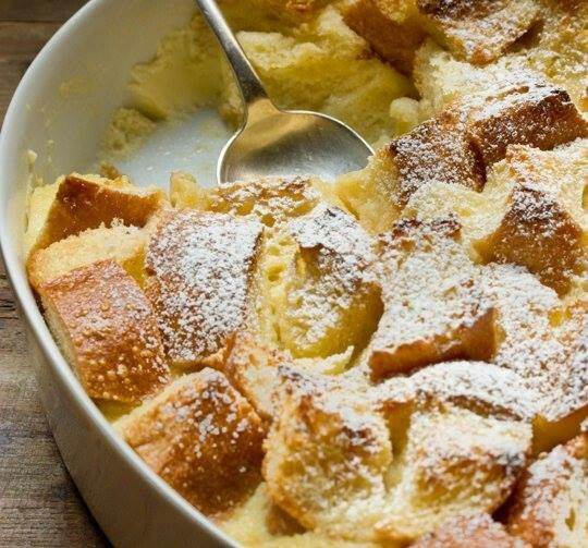 Eggnog Bread Pudding | Yummy Sweets! | Pinterest