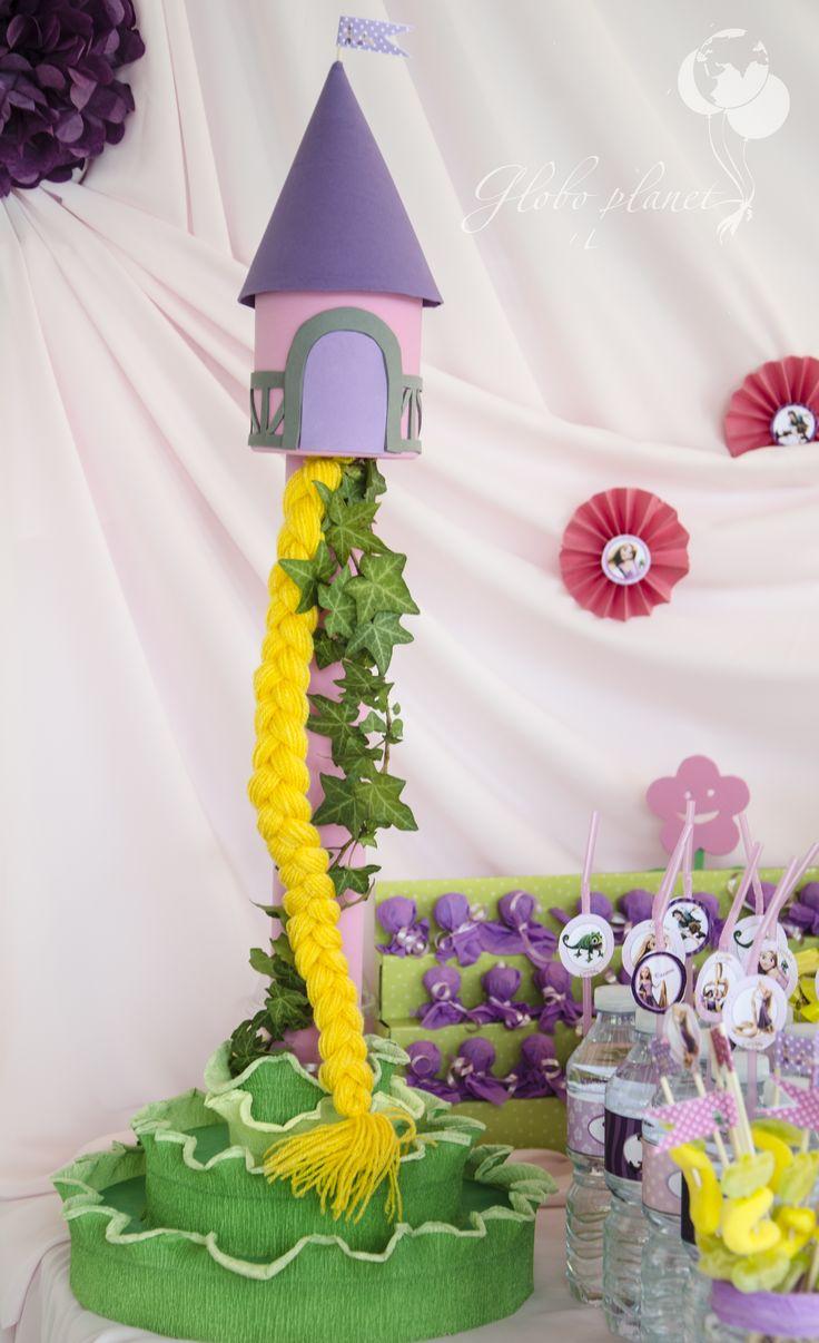 Decoracion Rapunzel Globos ~ Rapunzel  Decoracion con globos  Pinterest