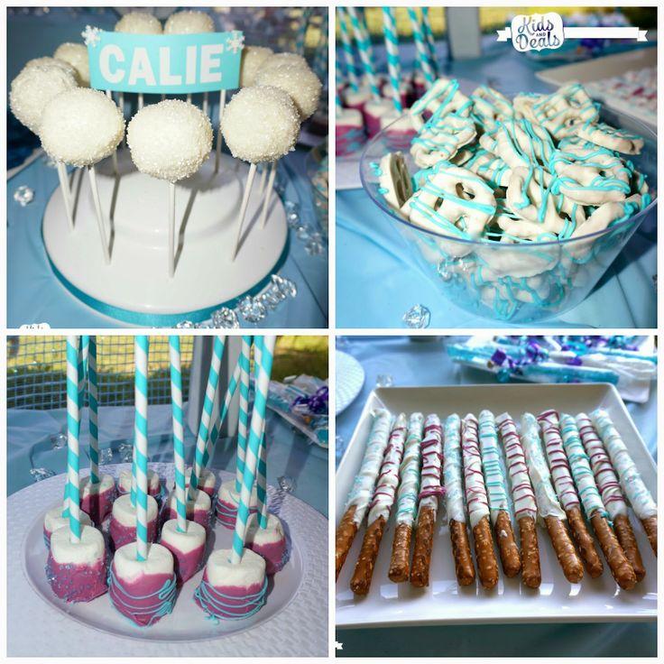 Disney Frozen Birthday Party Food Snacks