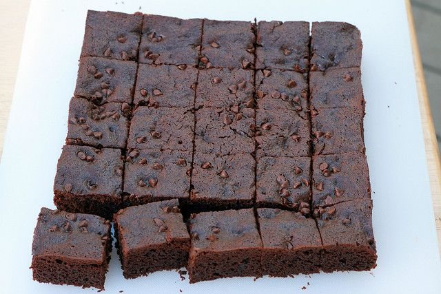 Chocolate Gingerbread Bars - Everyday Food by Food Librarian on Flickr