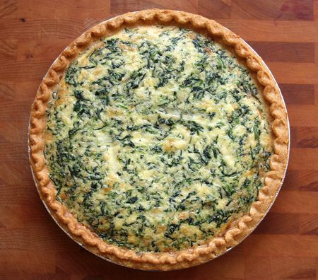 Spinach & Gruyère Quiche | The Best Way to Start the Day | Pinterest