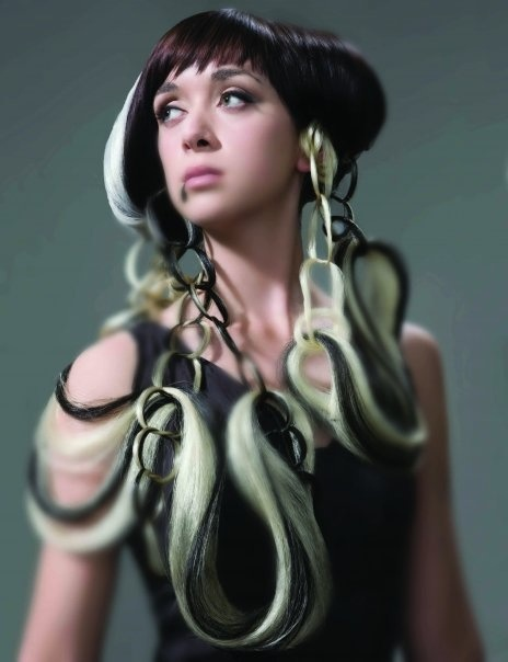 Avant Garde Black Hairstyles : Pin by christina marvel on waelse