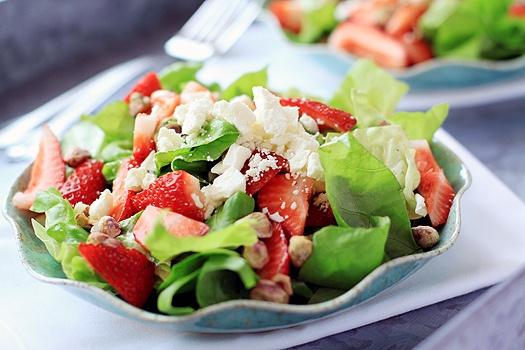 Strawberry Feta Salad | Salads | Pinterest