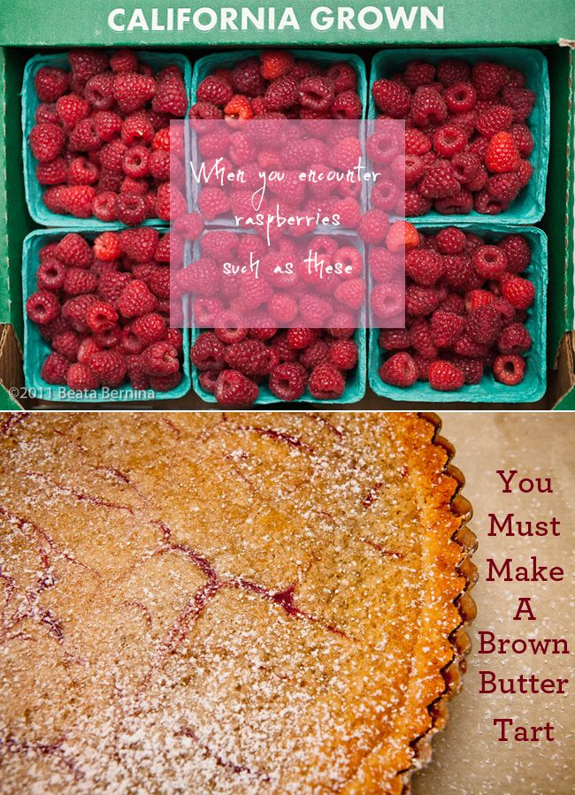 brown butter tart | Food | Pinterest