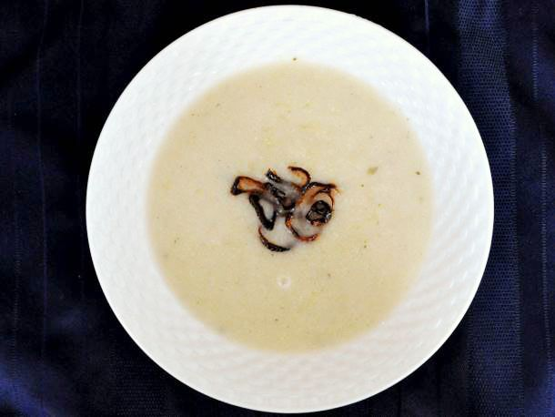 Cauliflower Soup with Crispy Shallots   Recipe
