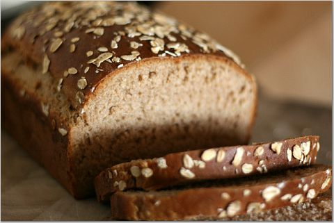 Oatmeal wheat bread. Made this today. | Recipes | Pinterest