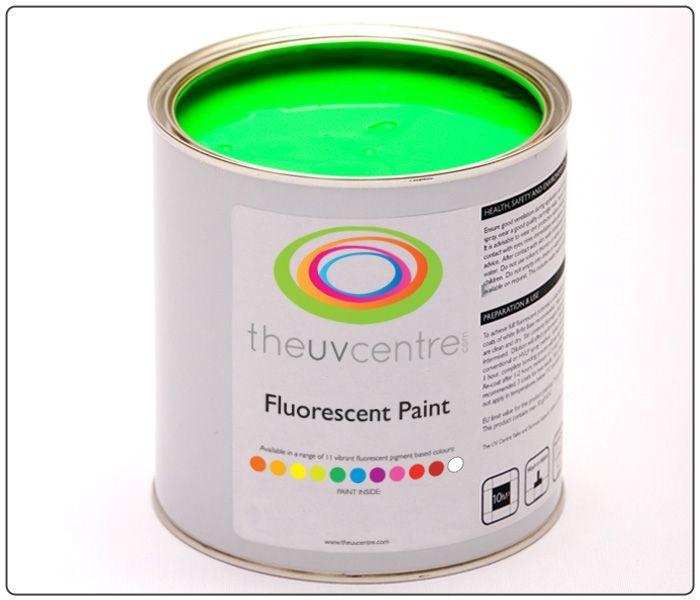 Fluorescent Green Paint Spray