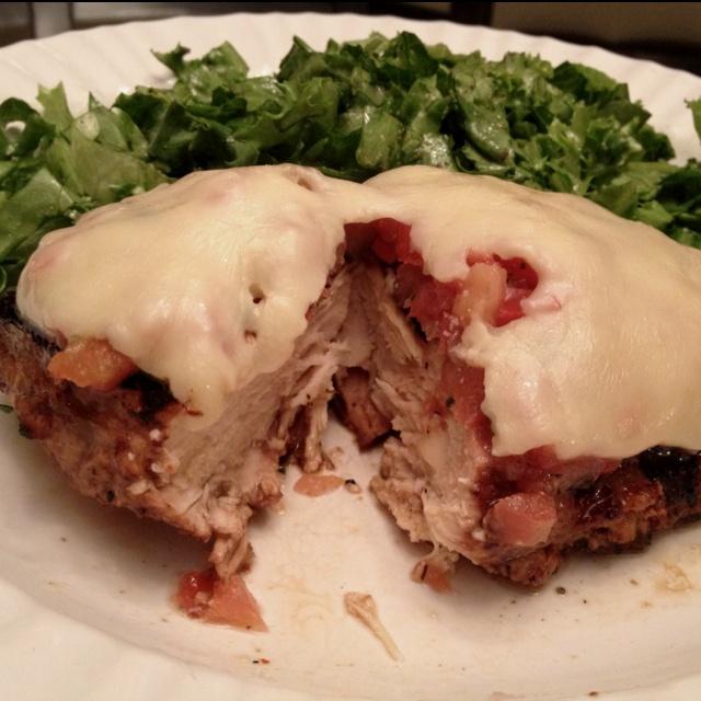 Balsamic Grilled Bruschetta Chicken Recipe — Dishmaps