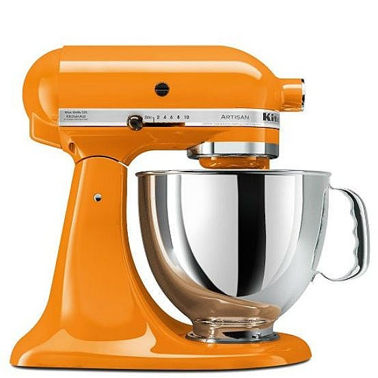 now have the entire line of orange KitchenAid small appliances