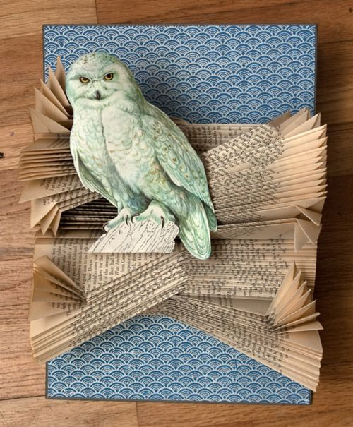 Altered books by Rachael Ash :: Owls