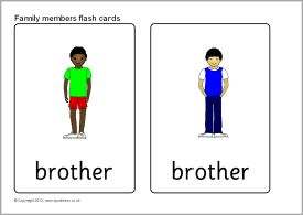 264023596876947411 on Sb9287 Family Members Flash Cards