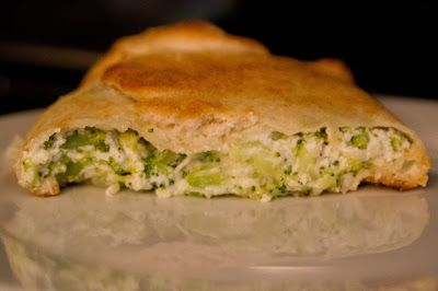 Broccoli Calzone | Fasting | Pinterest
