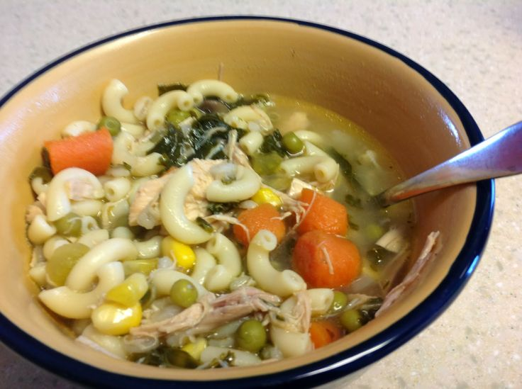Chicken vegetable and noodle soup favorite recipes for What vegetables to put in chicken noodle soup