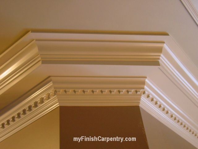 Crown molding crown molding ideas pinterest for Crown molding bedroom ideas