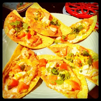 Individual nachos, ala Flying Saucer. | Things I've made. | Pinterest